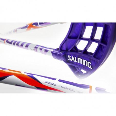Salming Q3 X-shaft KZTC 3dg floorball palica - Senior