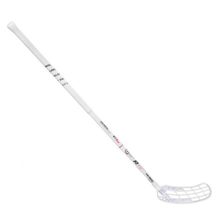 Salming Q1 KN7 Edt - White floorball palica - Youth