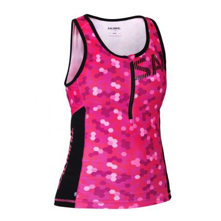 Salming Triatlon Singlet Women majica brez rokavov -Senior
