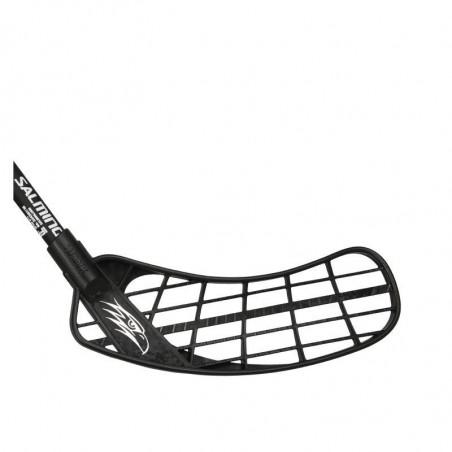 Salming Hawk PowerLite Oval KickZone bastone per floorball - Senior